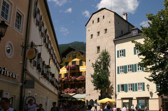 الحي القديم في مدينة زيلامسي النمسا