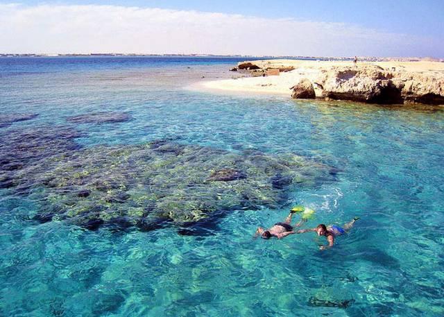 جزيرة الجفتون الغردقة