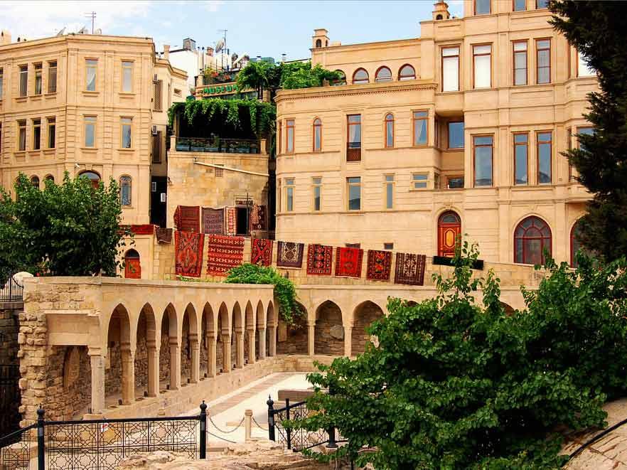 حمام حجي قايب من اهم اماكن السياحة في باكو اذربيجان