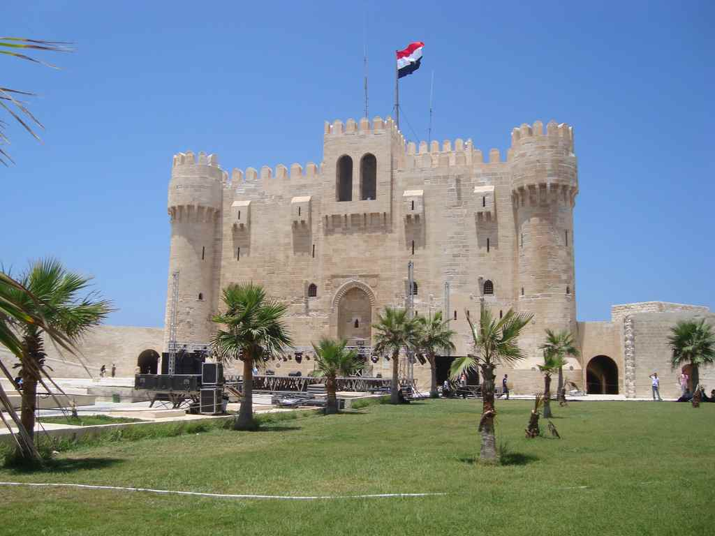 قلعة قايتباي في الاسكندرية