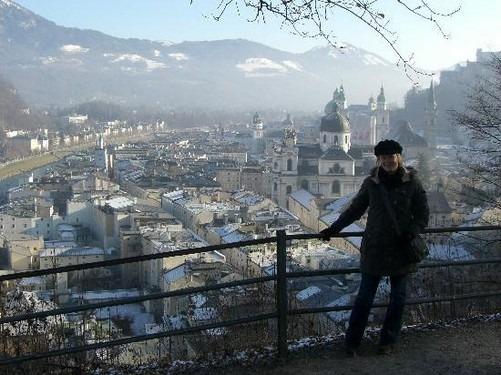جبل مونشسبيرغ من اجمل اماكن السياحة في سالزبورغ النمساوية