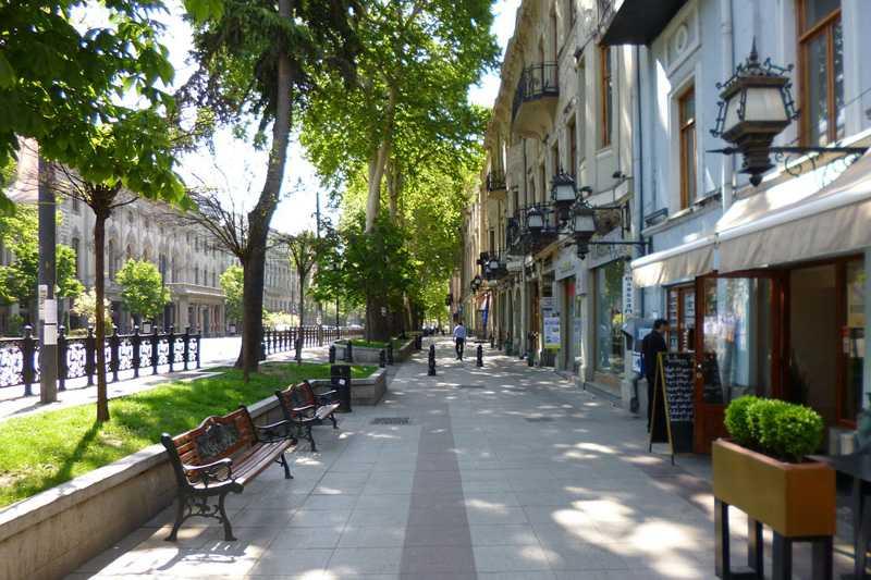 شارع روستافيلي تبليسي