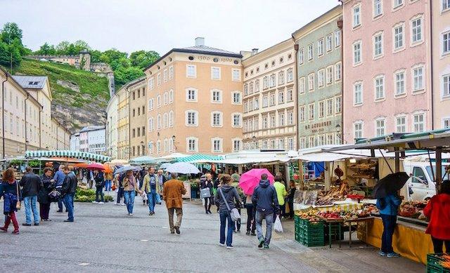 اماكن التسوق في مدينة سالزبورغ النسماوية