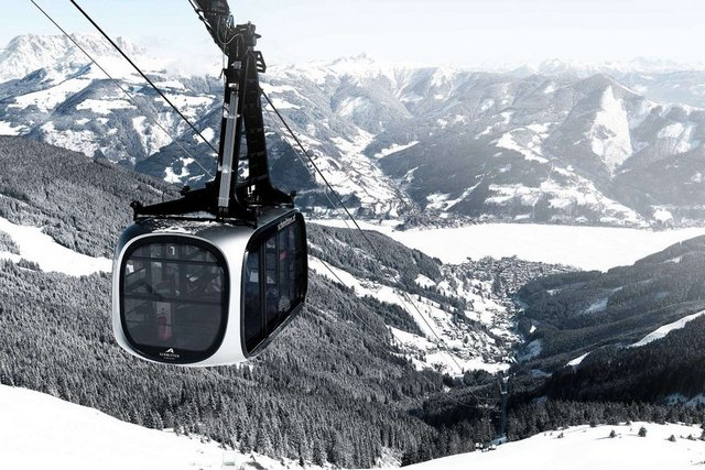 جبل شميتن هوه من اجمل الاماكن السياحية في زيلامسي النمسا