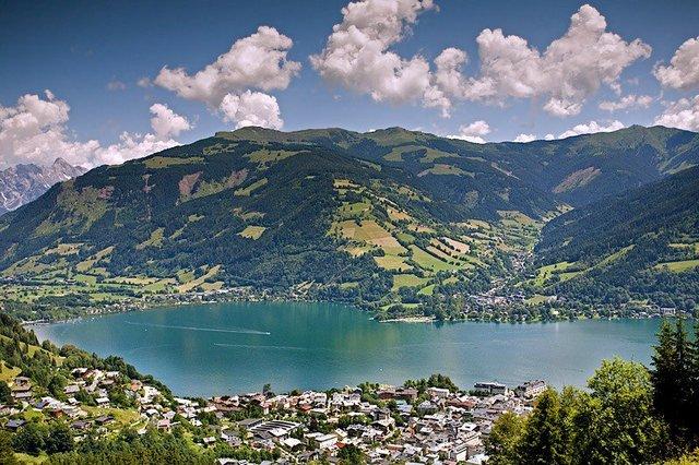 جبل شميتن هوه في النمسا زيلامسي