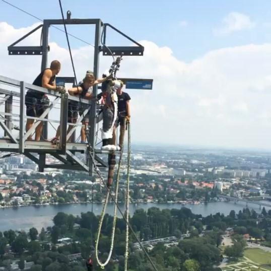 برج الدانوب من افضل الاماكن السياحية في فيينا النمسا