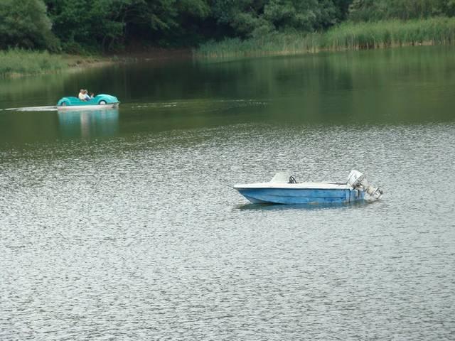 بحيرة السلاحف تبليسي من اهم الاماكن السياحية في تبليسي
