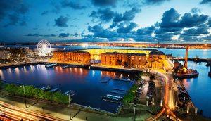 رصيف البرت البحري من اهم اماكن السياحة في ليفربول بريطانيا