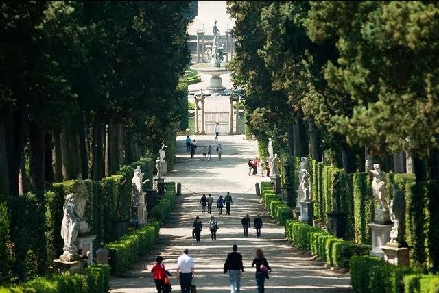 حدائق بوبولي من اجمل حدائق فلورنسا