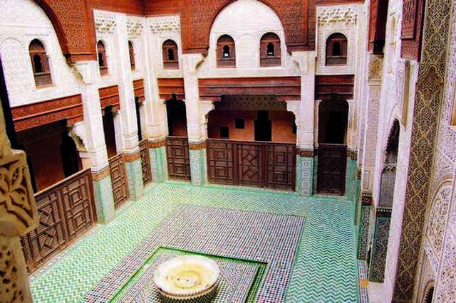 المدرسة البوعنانية في فاس المغرب