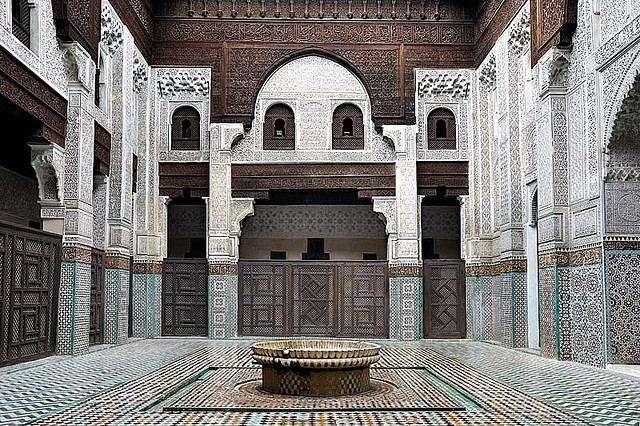 المدرسة البوعنانية فاس المغرب