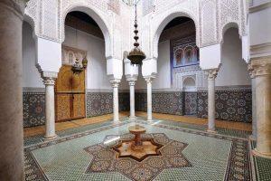 المدرسة البوعنانية من اهم معالم السياحة في فاس المغرب