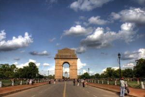 بوابة الهند من اهم معالم السياحة في الهند نيودلهي