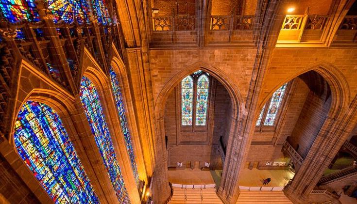 كاتدرائية ليفربول من اهم اماكن السياحة في ليفربول انجلترا