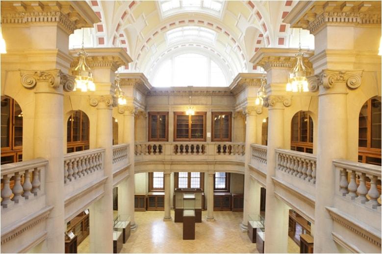 مكتبة ليفربول المركزية في انجلترا