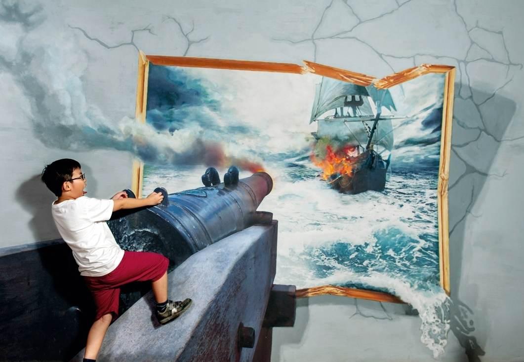 متحف صنع في بينانج التفاعلي من افضل الاماكن السياحية في بينانج