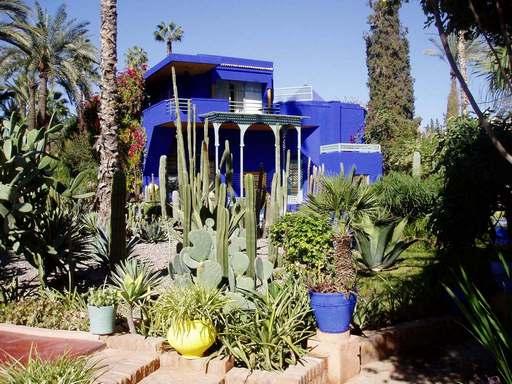 حدائق ماجوريل مراكش من اجمل حدائق مراكش