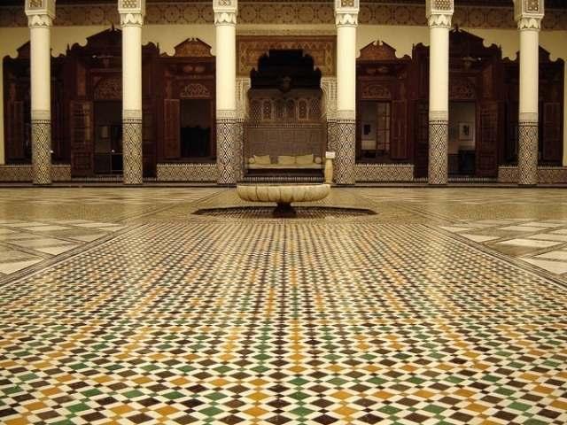 متحف مراكش من اهم معالم مدينة مراكش المغرب