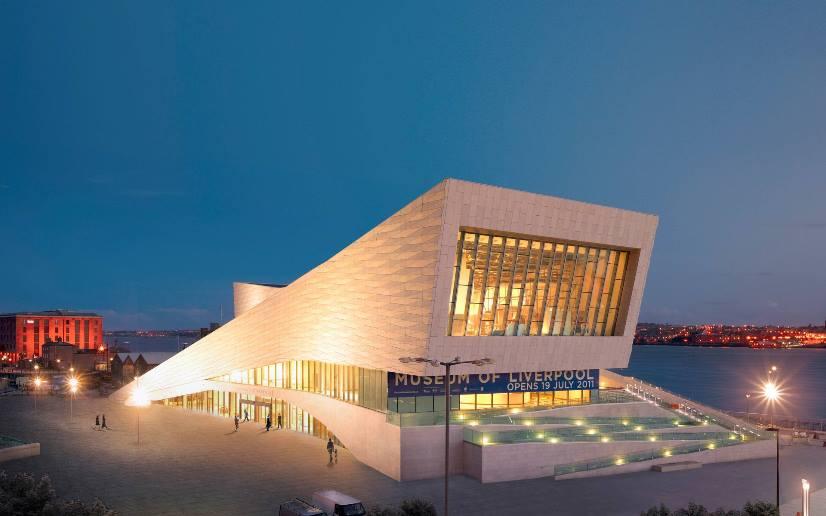 متحف ليفربول انجلترا من اهم معالم السياحة في ليفربول بريطانيا