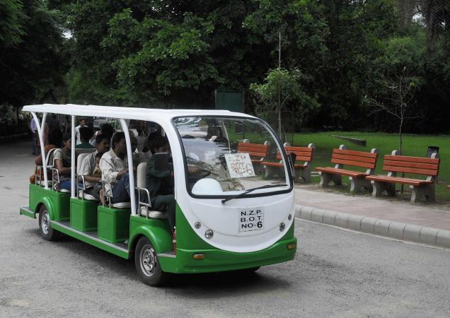 حديقة حيوانات في دلهي