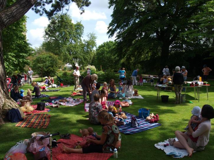حديقة بوتانيك بجامعة أكسفورد