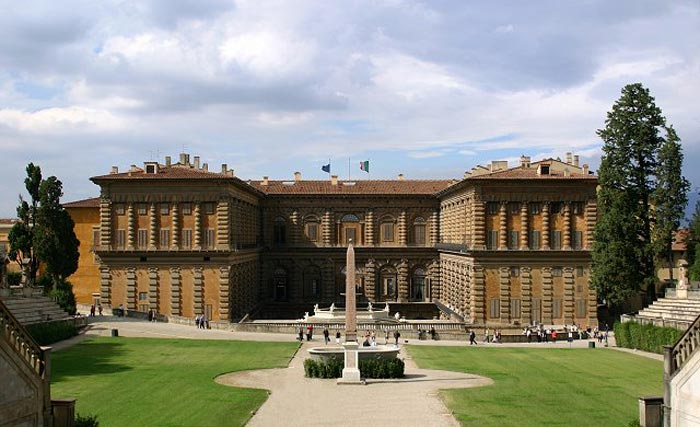 قصر بيتي من اهم الاماكن السياحية في فلورنسا