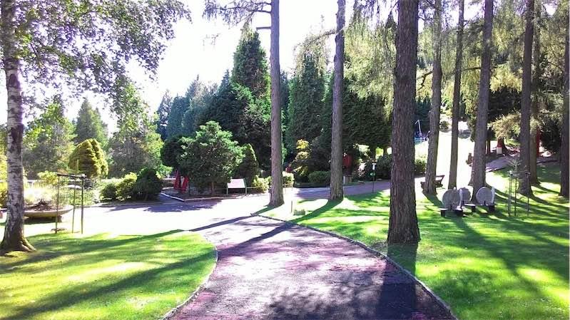 منتزه سان جراتو من اجمل اماكن السياحة في لوغانو
