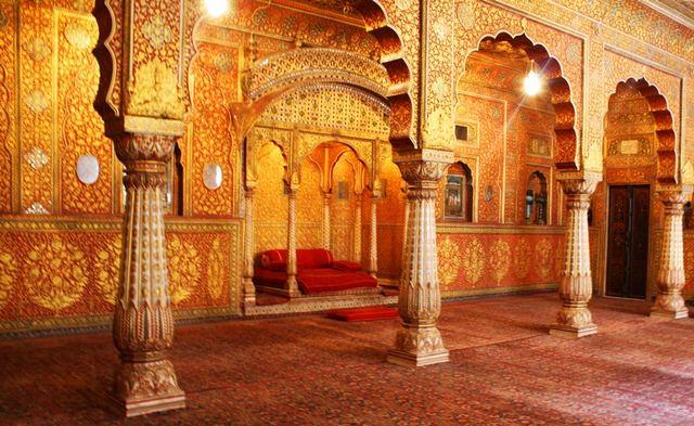القلعة الحمراء في نيودلهي الهند