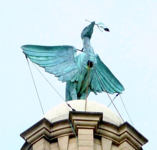 مبنى رويال ليفر في ليفربول انجلترا