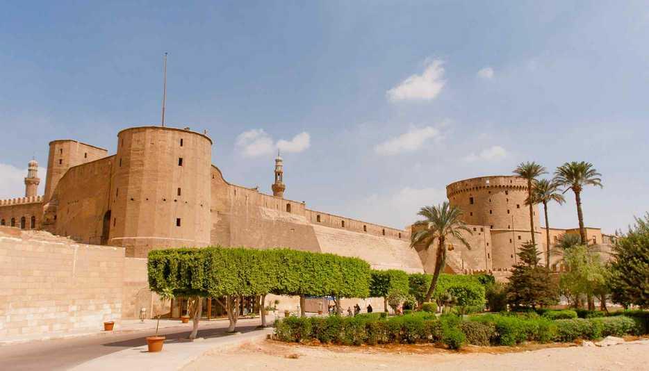 قلعة صلاح الدين الأيوبي من اهم معالم مدينة القاهرة