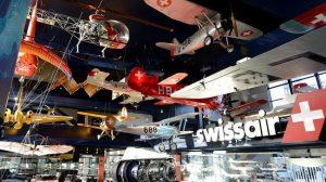 متحف النقل في سويسرا الواقع في مدينة لوزيرن السويسرية