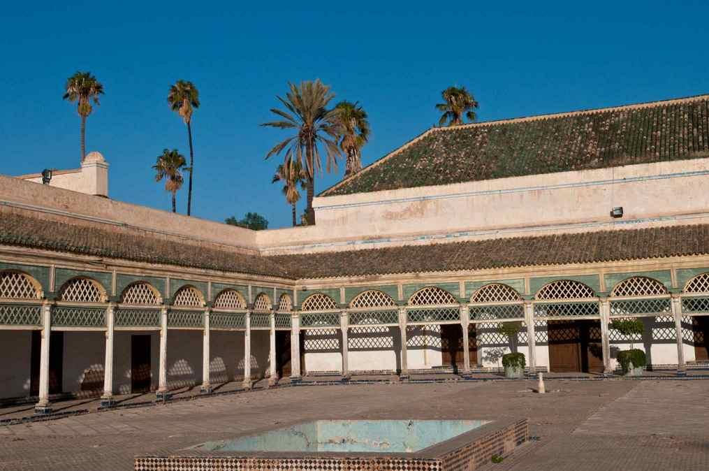 قصر الباهية من اهم اماكن السياحة في مراكش المغرب