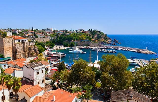 انطاليا من اهم مدن تركيا للسياحة