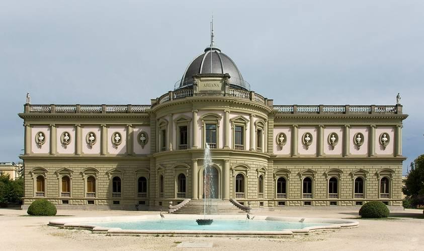 متحف اريانا في جنيف سويسرا من اهم مناطق سياحية في جنيف سويسرا