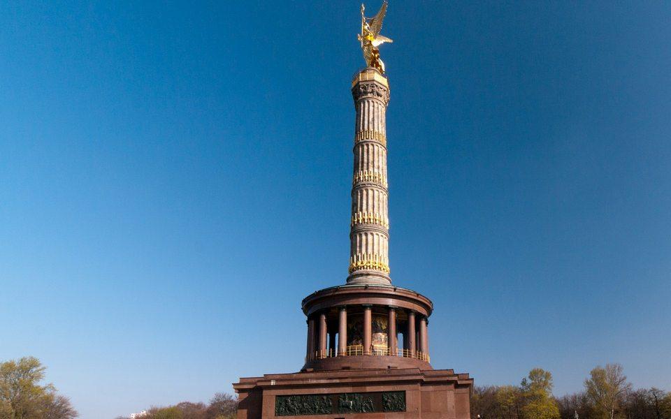 عمود النصر من اهم معالم مدينة برلين