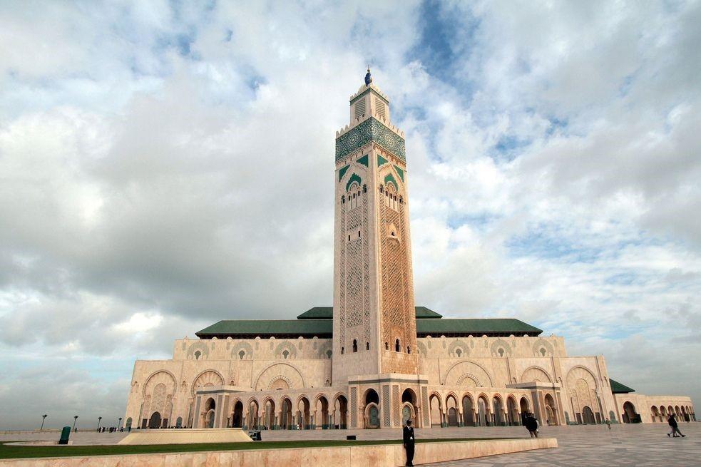 مسجد الحسن الثاني كازابلانكا المغرب