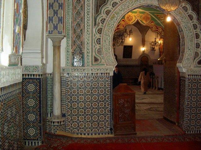 جامع القرويين في فاس المغرب