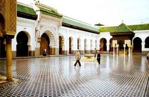جامع القرويين في فاس المغربية