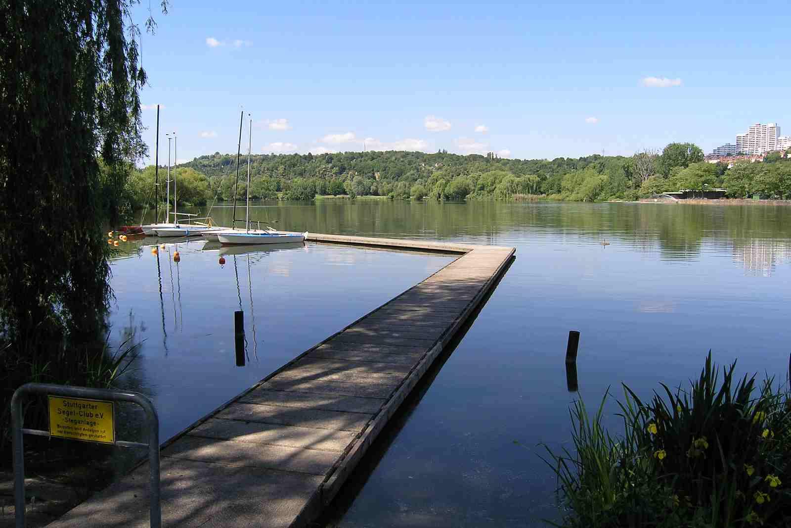 بحيرة ماكس ايث سي من اجمل مناطق السياحة في شتوتغارت