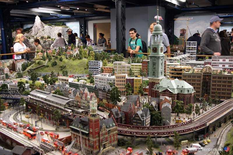 مينياتور وندرلاند من اجمل اماكن الترفيه في مدينة هامبورغ الالمانية