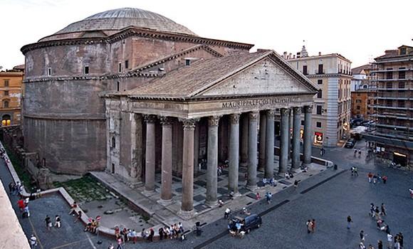 البانثيون من اهم متاحف روما ايطاليا - صور روما - دليل السياحة في روما
