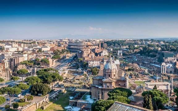 افضل مدن ايطاليا ، السياحة في روما