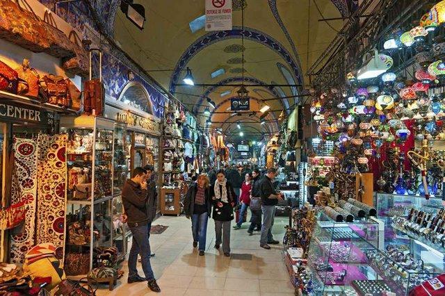 اماكن التسوق في اسطنبول تركيا