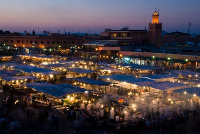 السياحة في مراكش المغرب