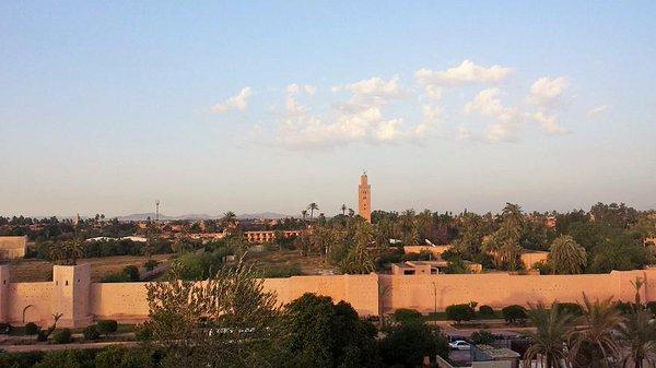 سور مراكش من افضل الاماكن السياحية في المغرب