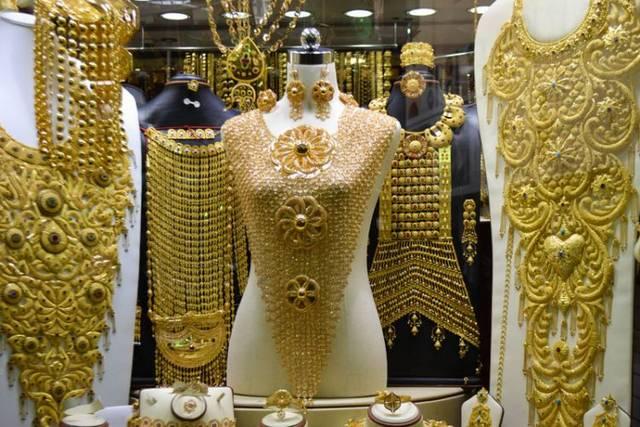 سوق الذهب دبي من اشهر الاسواق في الامارات