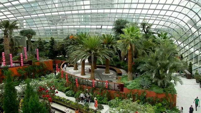 حدائق الخليج معالم سياحية في سنغافورة