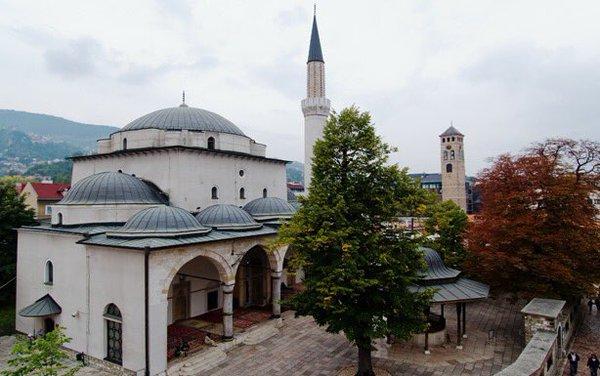 مسجد غازي خسرو بيك من اجمل معالم مدينة سراييفو