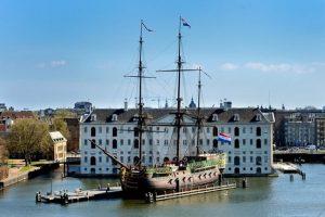 يعد المتحف البحري في امستردام من اهم الاماكن السياحية في هولندا