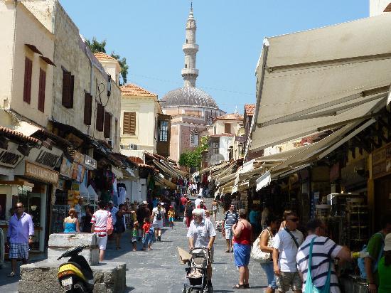 مدينة رودس القديمة